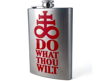 DECAL Do What Thou Wilt - Choose Color & Size