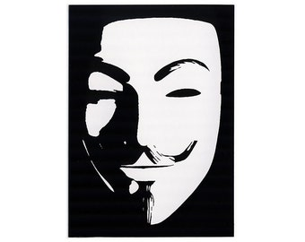 Anonymous Guy STICKER - Free Shipping