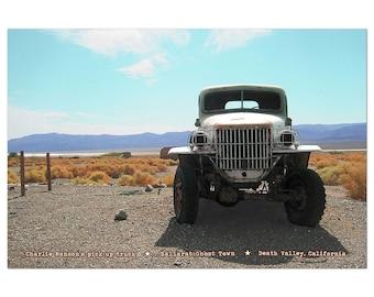 Manson Truck Postcard