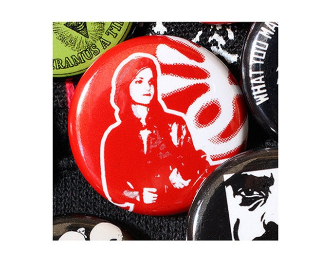 Patty Hearst SLA 1 Inch (2.54 cm) Button or Magnet - Ships Free