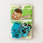 Cute Japanese Bento Cutters / Cookie Cutters Set - Sea Otter, Dolphin, Fish, Shell, Wave