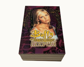 Buffy The Vampire Slayer Season 3 complete set of 90 cards in excellent condition. Inkworks 1999.