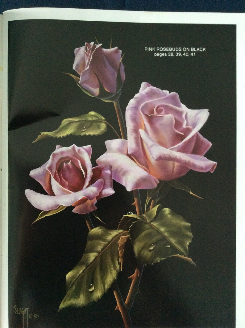 Realistic Florals And More By Judy Sleight Susan Scheewe Presents Booklet233