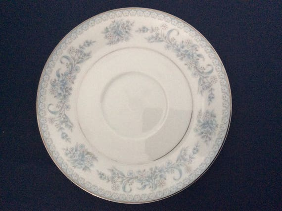 Mikasa Dresden Rose L9009 Saucers Fine China Set of Four