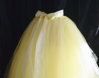 Add Ons - 3 inch wide satin ribbon sash to any tutu order - upgrade - your choice of colors - skirt not included -