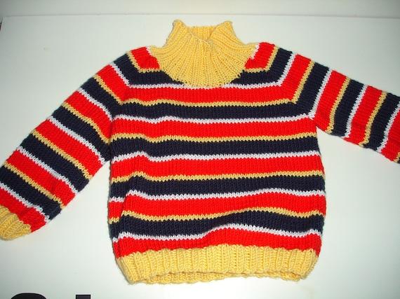 Custom knitted Ernie sweater for Adults Men Women