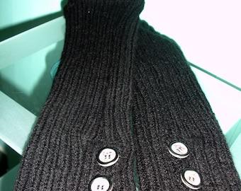 Custom knit leg warmers