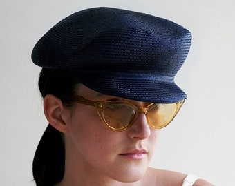 2e2a817247eef Straw newsboy cap