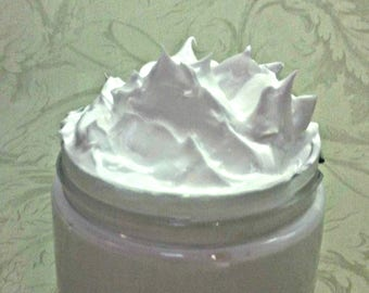Unscented Whipped Soap, Fluffy Cream Soap, 4 Oz.