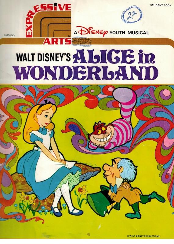 Disney-Jugend-Musical von Walt Disneys Alice im Wunderland | Etsy