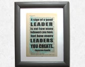 A sign of a good leader i...