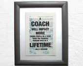A coach will impact more ...