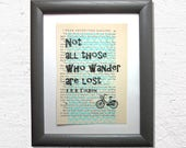 Not all those who wander ...