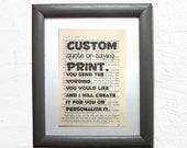 Custom or personalized pr...