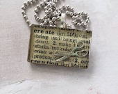 Create necklace made from...