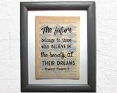 The future belongs to tho...