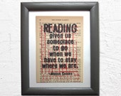 Reading gives you somepla...