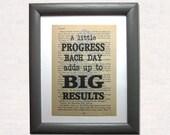 A little progress each da...