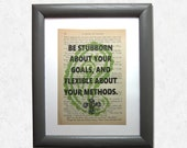 Art print motivation: Be ...