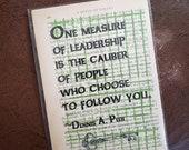 Art print about leadershi...