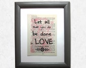 Let all that you do be do...