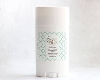 Unscented Natural Deodorant - Coconut Allergy Deodorant, Aluminum Free Deodorant, No Baking Soda Deodorant