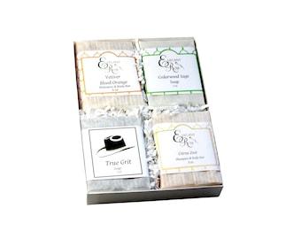 Mens Soap Gift in Gift Box, Gift for Him, Hostess Gift, Postal Worker Gift, Holiday Gi