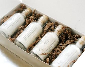 Bath Salts Gift Set, Spa Gift Set, Spa Gift Box, Gift for Her, Bath Salts for Mom Gift Box