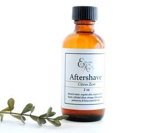 Aftershave, Mens Aftershave, Citrus Zest Natural Aftershave
