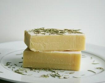 Rosemary Nettle Shampoo Bar  - Natural Shampoo Bar, Solid Shampoo Bar - All Natural Soap, Handmade Soap