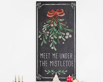 Mistletoe Wall Art Etsy