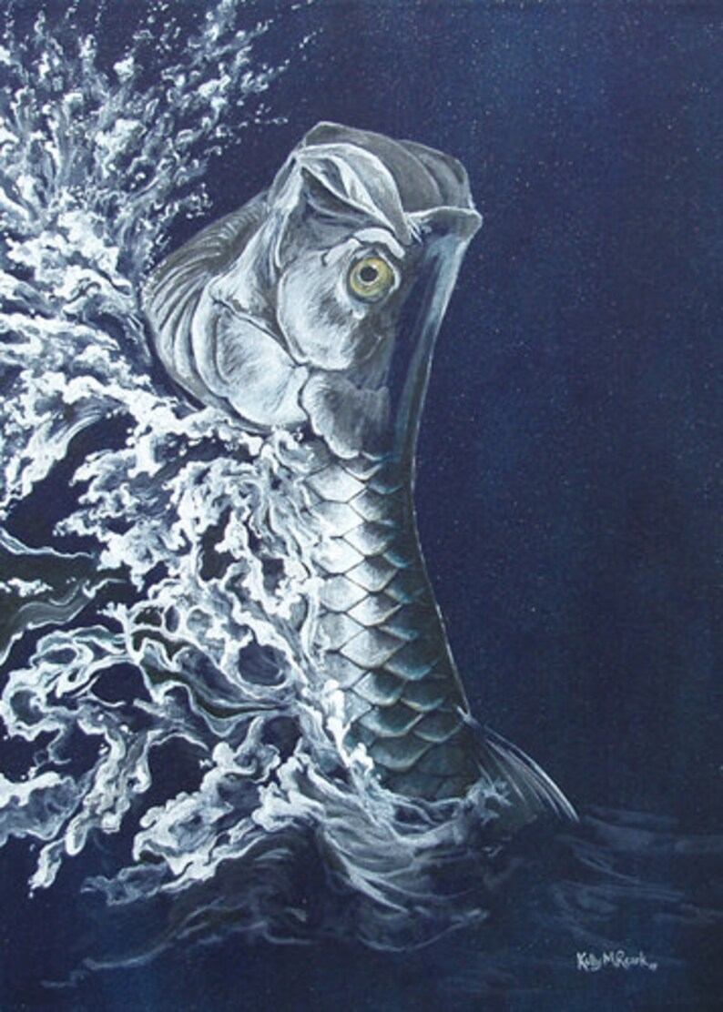 Reigning Silver  Limited Edition Giclee Print image 0