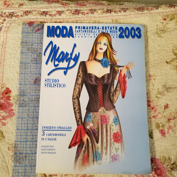 Marfy 2003 Sewing Catalog Etsy