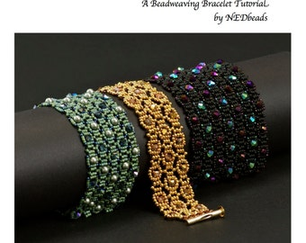Beadwoven Bracelet Tutorial - Labyrinth