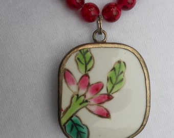 Ching Dynasty Pottery Shard Necklace
