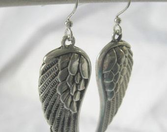 Travel Earrings - Wing Earrings - Small