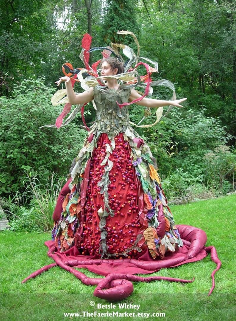 Perelandra A Fantasy Fiber Art Sculptural Dress image 0