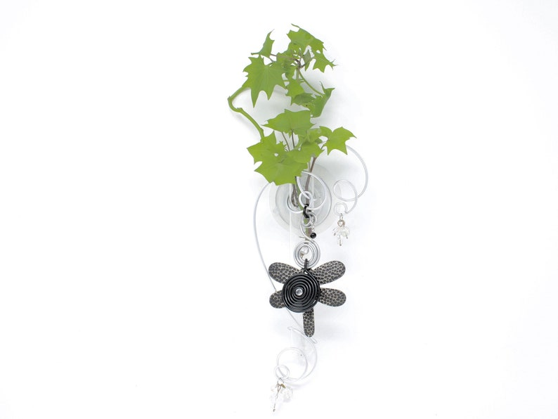 Butterfly Propagation Vase for Indoor Garden Suction Flower image 0
