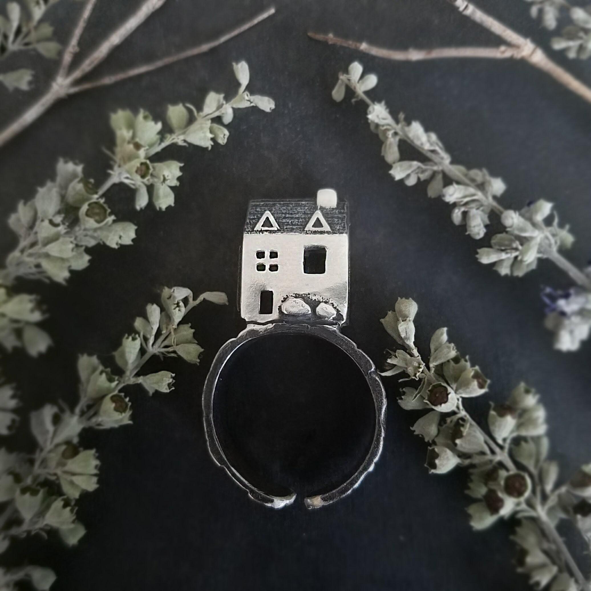 Dollhouse Miniatures Texas: Dollhouse Ring Statement Ring Handmade In My Austin Tx