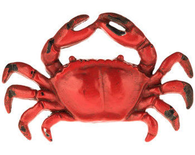 red crab knobs best seller nautical furniture dresser kitchen dining room drawer pulls cottage renovation design idea Beach House Dreams OBX