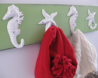 Beach towel rack pool towel holder outdoor shower hooks coastal living nautical decor Outer Banks cottage renovation Beach House Dreams OBX