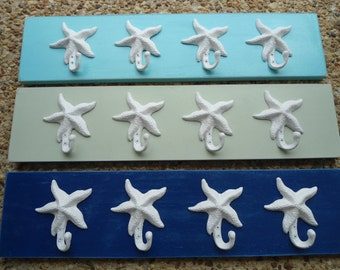 starfish towel rack pool towel holder bath towels hot tub outdoor shower cottage home renovation Nautical Outer Banks Beach House Dreams OBX