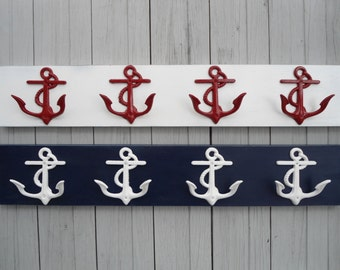 anchor towel rack outside shower hot tub swimming pool towels sports equipment workout gear key coats dog collar laundry BeachHouseDreamsOBX