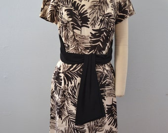 Graphic Splash 60s Dress