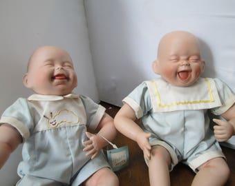 tickle twinsnporcelian babies