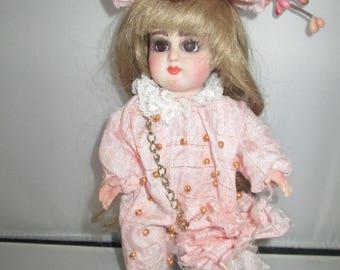 ooak porcelian art doll