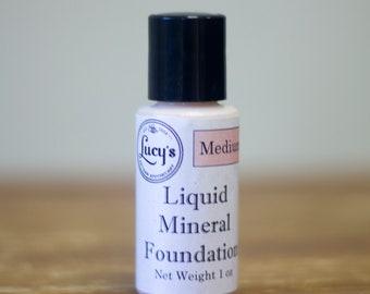 Liquid Mineral Foundation by Mum Mum's Crafts NEW