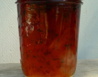 Oh Hail Pepper Jelly Hot Appetizer  Homemade Organic