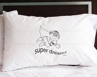 Super Dreams Pillowcase (w/ crayons)