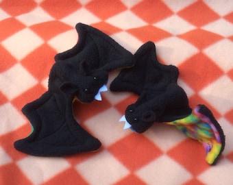 Little Spooky Bat Finger Puppet